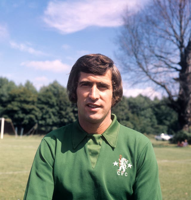Peter Bonetti was a late stand-in for Gordon Banks in the World Cup quarter-final defeat to West Germany
