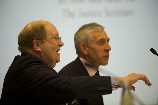 Bob Satchwell and Jack Straw