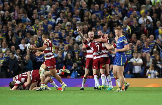 Warrington v Wigan
