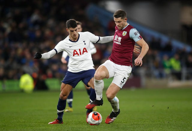 Burnley drew 1-1 with Tottenham before the Covid-19 suspension