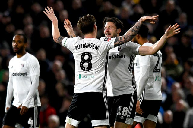 Arter celebrates scoring the winner