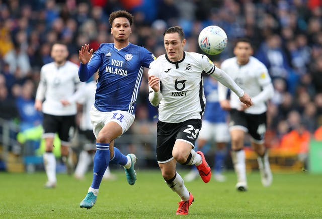 Cardiff and Swansea are both fighting for the last play-off place