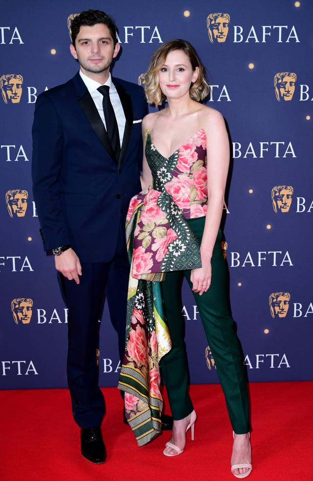 Michael Fox and Laura Carmichael