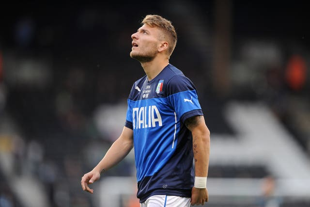 Ciro Immobile is in line to play in one of the two final qualifying games