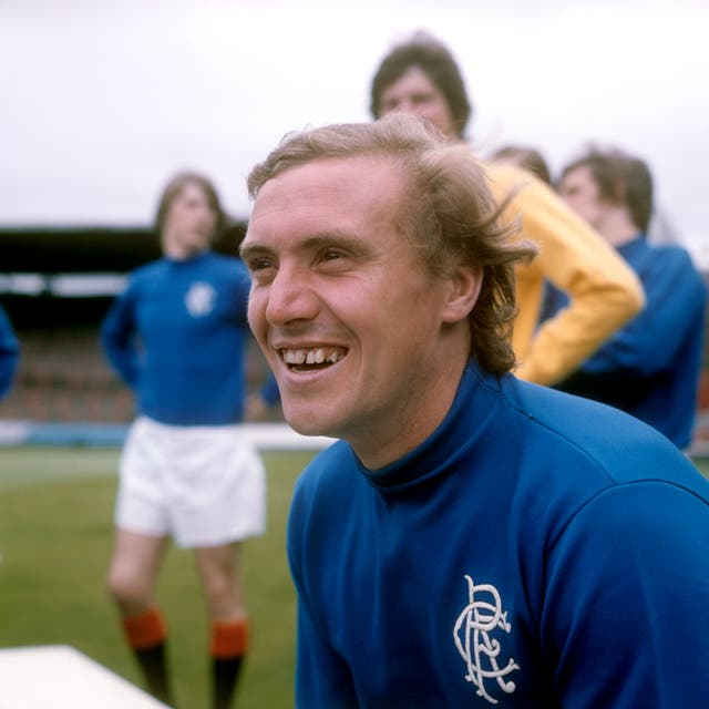 Colin Stein was the Rangers hero back in 1975