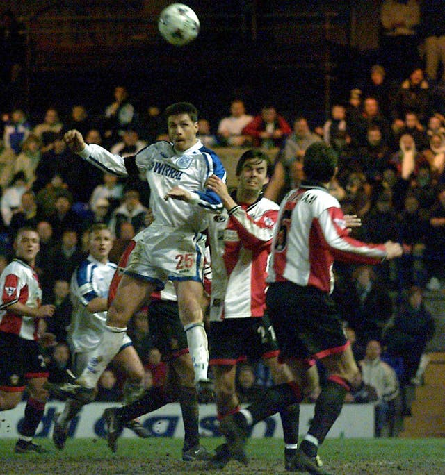 Paul Rideout's hat-trick helped Tranmere stun Southampton in a replay