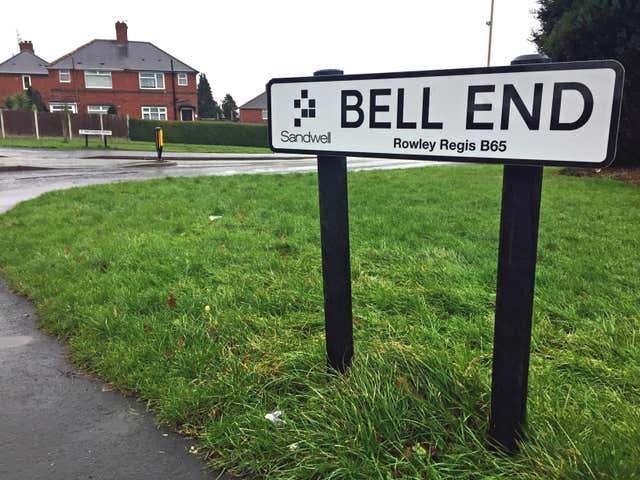 Bell End in Rowley Regis, West Midlands