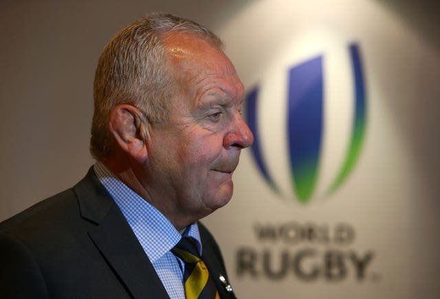 Sir Bill Beaumont is standing for re-election