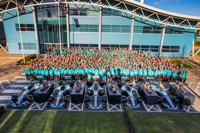 Mercedes' Operations Centre is in Brackley