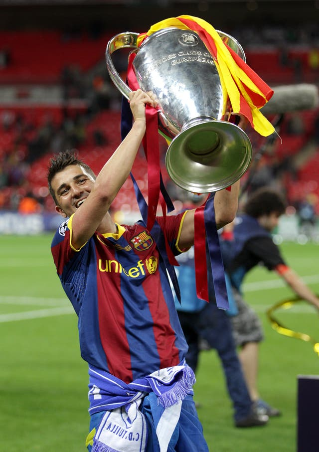 Villa lifts the Champions League trophy