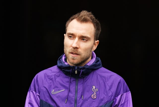 Mourinho is keen for Christian Eriksen, pictured, to remain at the club