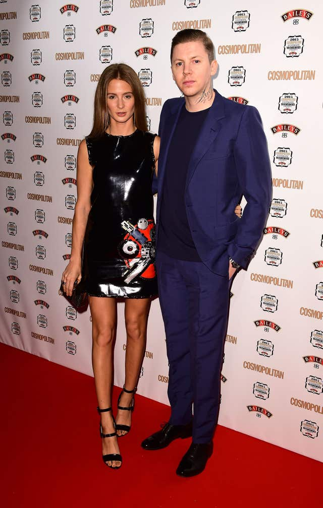 Cosmopolitan Ultimate Women Of The Year Awards 2017 London Millie Mackintosh And Professor Green