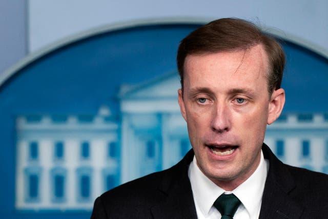 National Security Advisor Jake Sullivan