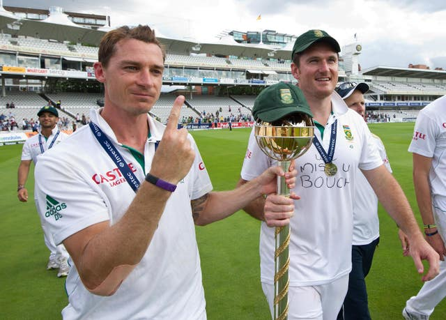 Steyn (left) has retired from Test cricket