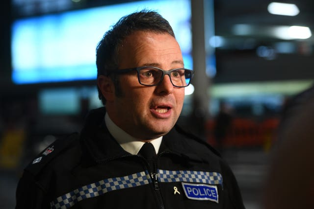 Sussex Police Detective Chief Superintendent Jason Tingley