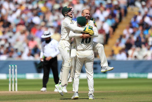 Nathan Lyon was the star of the show for Australia