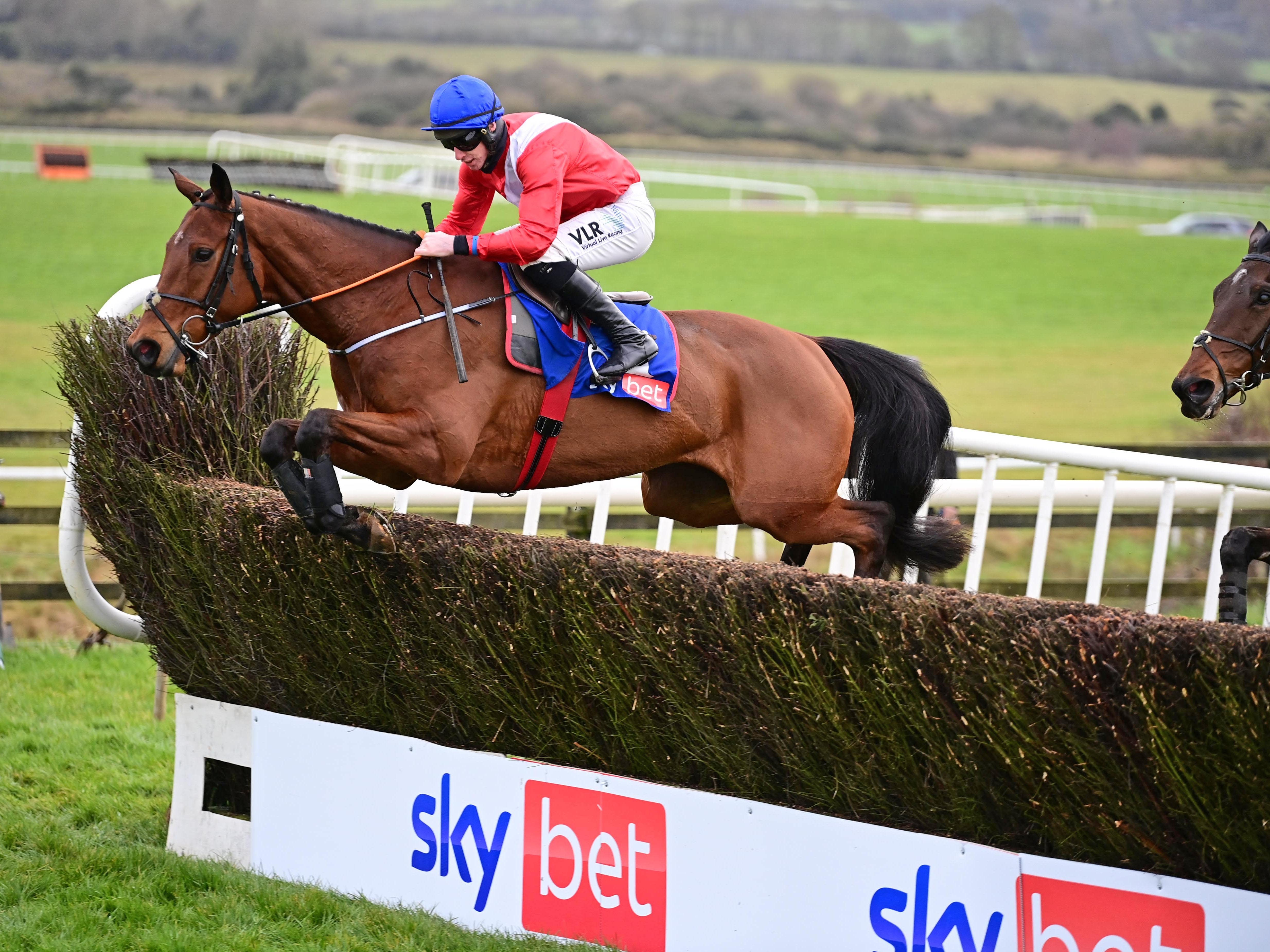 Envoi Allen on his way to winning at Punchestown (PA)
