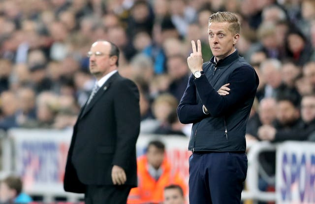 Garry Monk, right, opted not to continue as Leeds manager under owner Andrea Radrizzani