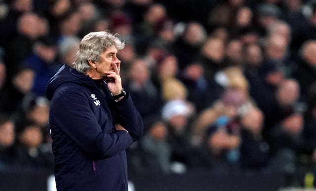 West Ham manager Manuel Pellegrini was sacked shortly after his team's home defeat by Leicester