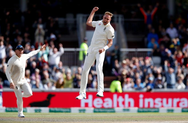 Stuart Broad has impressed Anderson during the current Ashes series