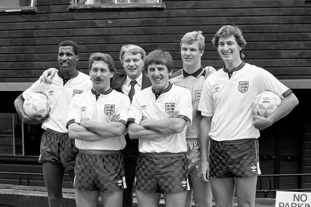 Chris Woods was a regular part of Sir Bobby Robson's England set-up