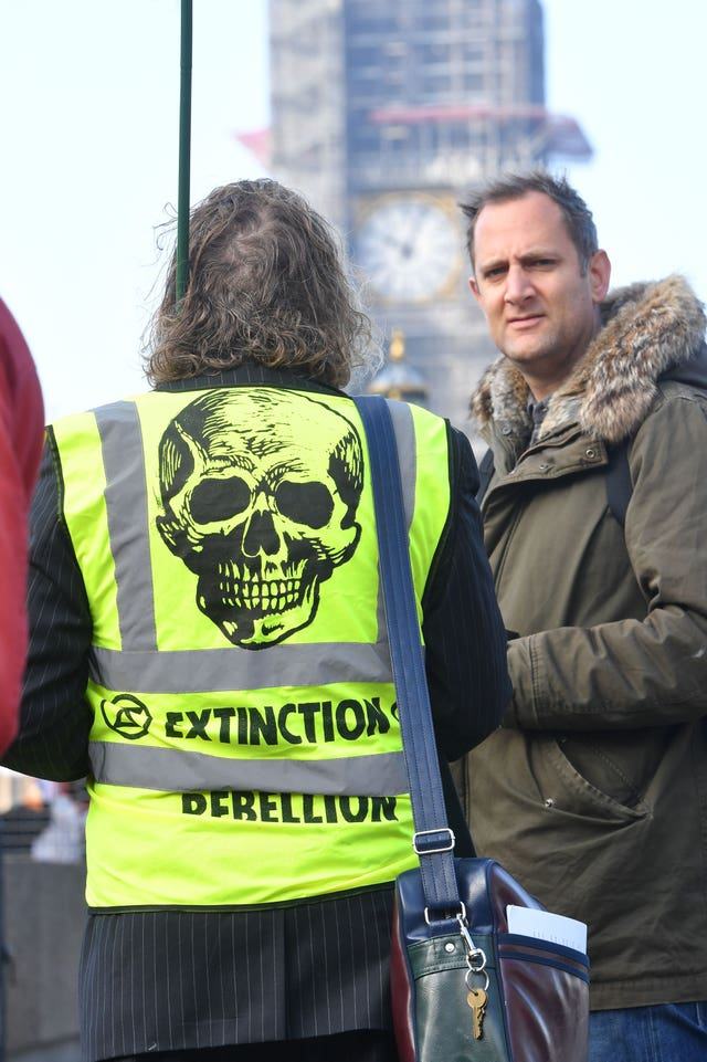 Rebellion Day environmental protest