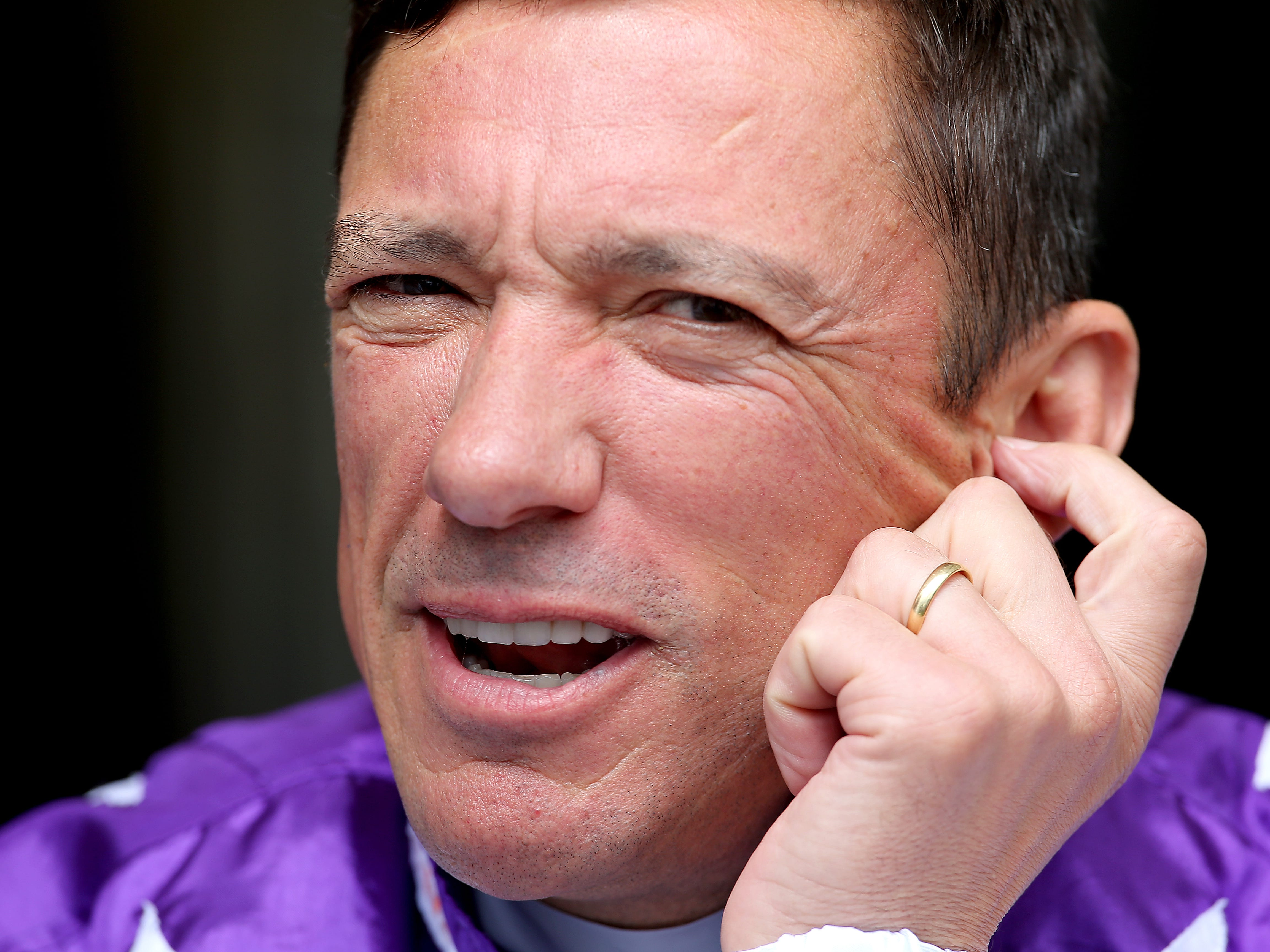 Frankie Dettori will have his first ride back in Britain this year aboard Dubai Warrior in the Betway Winter Derby at Lingfield (Mark Kerton/PA Images)