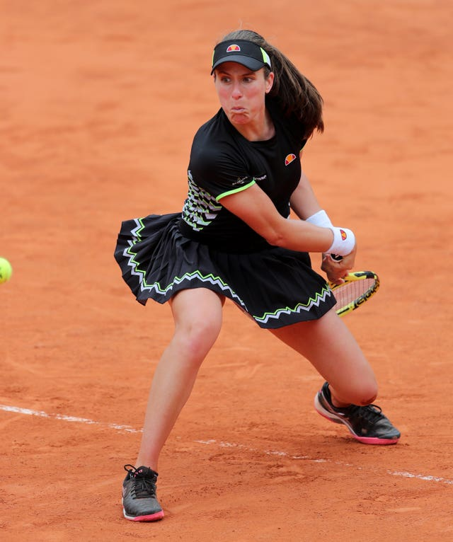 Johanna Konta reached the semi-finals of the French Open last year