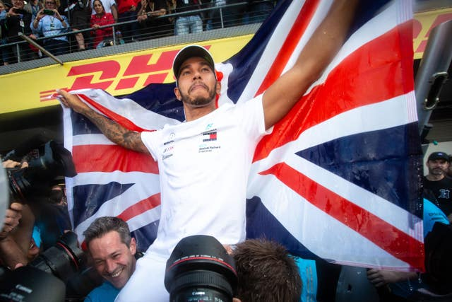 Lewis Hamilton became a five-time world champion