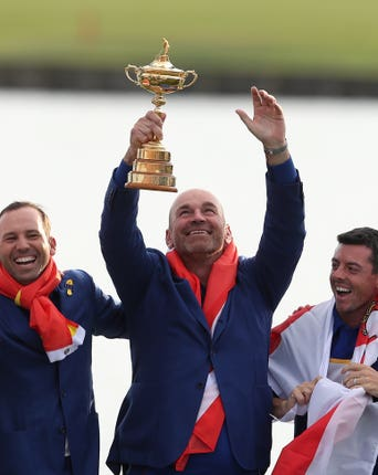 Padraig Harrington has heaped praise on Thomas Bjorn for his Ryder Cup captaincy