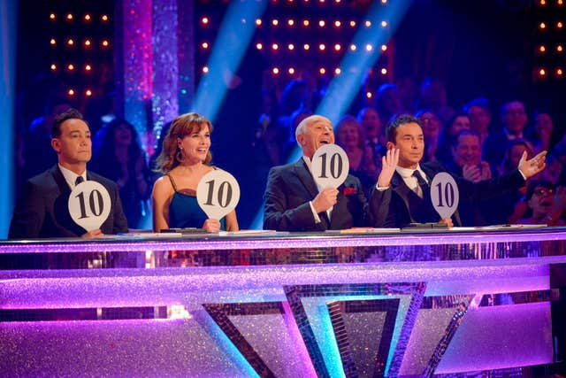 Dame Darcey Bussell tries to be positive in her judging style (Kieron McCarron/BBC/PA).