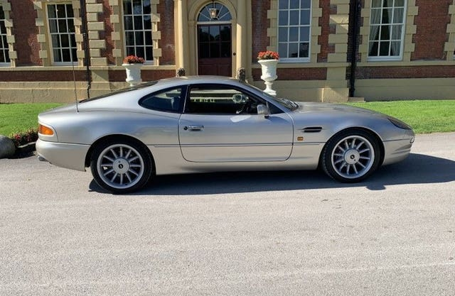Roy Keane's Aston Martin DB7 Vantage for sale