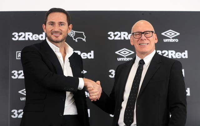 After bringing the curtain down on his playing career with spells at Manchester City and New York City, Lampard was handed his first managerial job at Derby in 2018