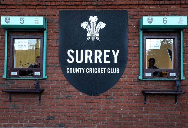 Surrey have a number of players self-isolating as a precautionary measure