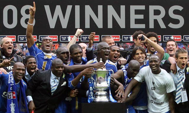 Papa Bouba Diop was a key member of Portsmouth's FA Cup-winning team