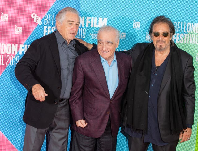 The Irishman photocall – BFI London Film Festival 2019