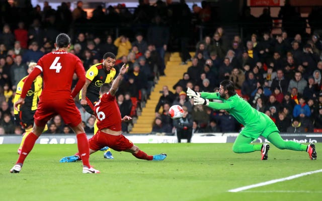 Alisson Becker's run of clean sheets help Liverpool extend their huge lead at a pivotal time in the season