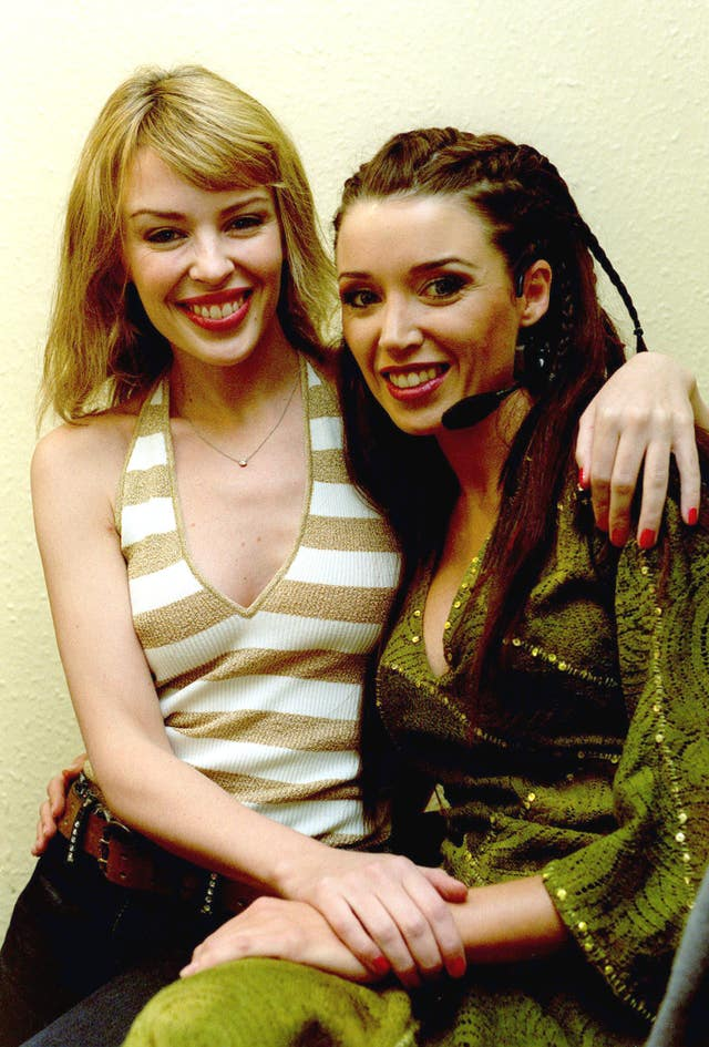 Minogue sisters Dominion Theatre