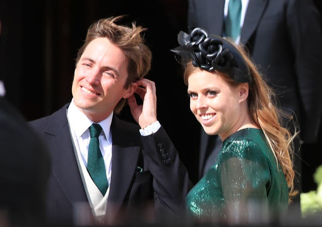 Princess Beatrice and her fiance Edoardo Mapelli Mozzi