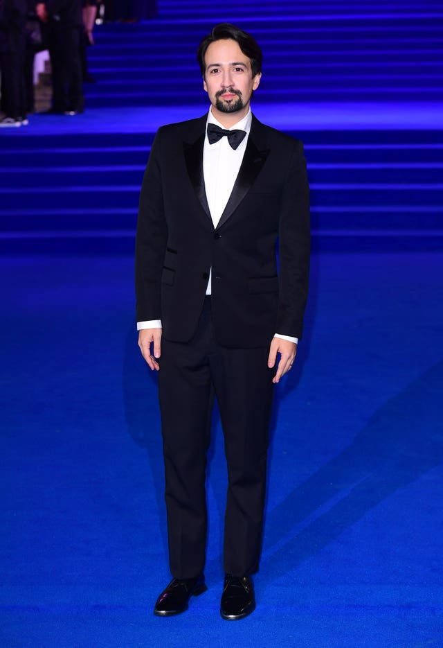 Lin-Manuel Miranda at the Mary Poppins Returns European Premiere – London