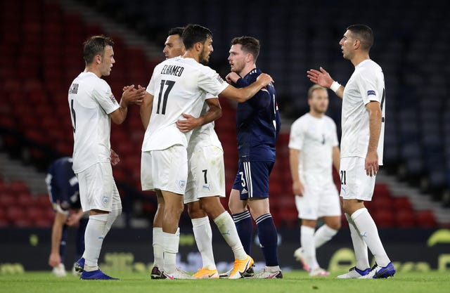 Scotland shared a 1-1 draw with Israel in Friday's Nations League opener