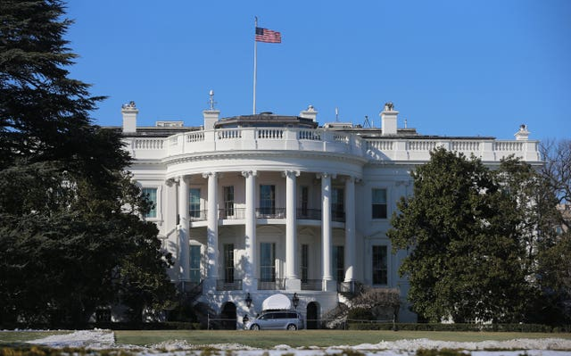 Using the White House for partisan events might prove controversial (Niall Carson/PA)