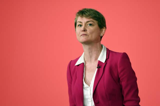 Yvette Cooper has written to the Home Secretary asking for an independent review (Joe Giddens/PA)