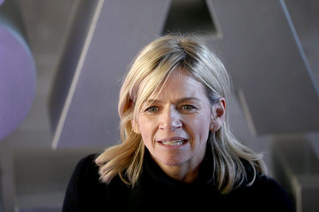 Zoe Ball makes the top 10 for the first time