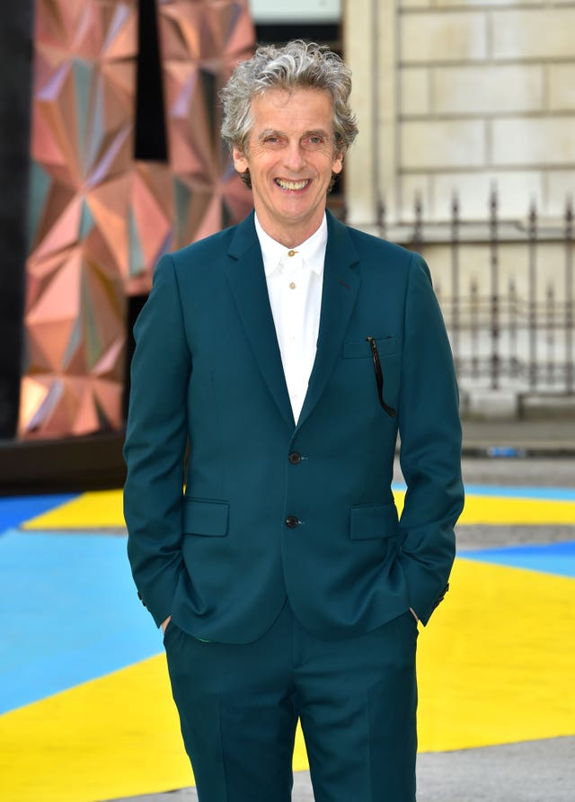Peter Capaldi at the Royal Academy of Arts party