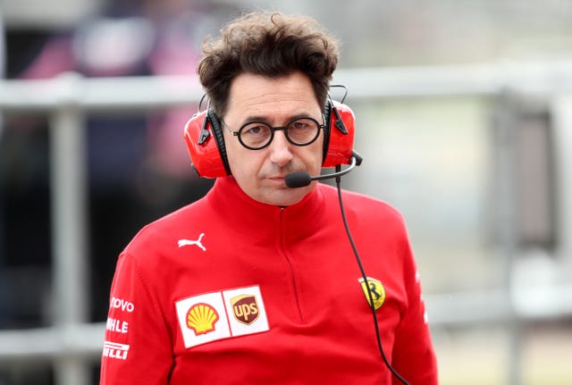 Mattia Binotto is Ferrari's team principal