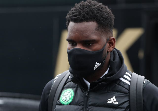 Celtic's Odsonne Edouard contracted coronavirus while away on France Under-21 duty