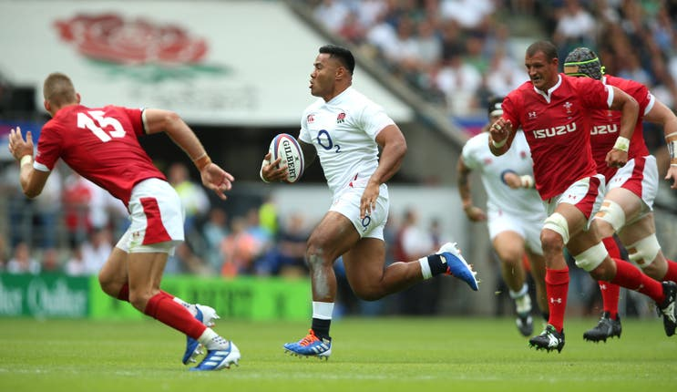 Manu Tuilagi won just two England caps between 2014 and 2019 because of injury