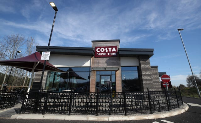 Costa drive-through