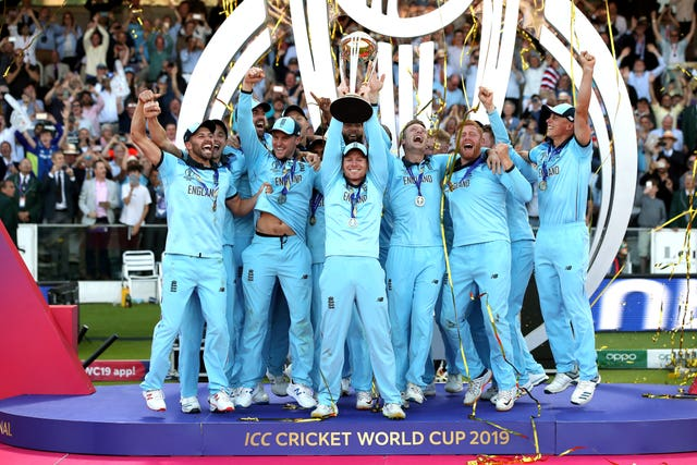 England lift the Cricket World Cup